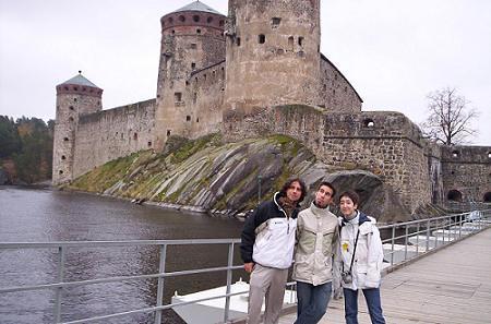 El famoso castillo de savonlinna.