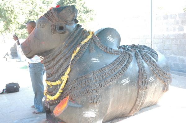 Nandi 1000 pillar Temple Warangal