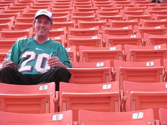 Dolphins vs Bengals with Dad