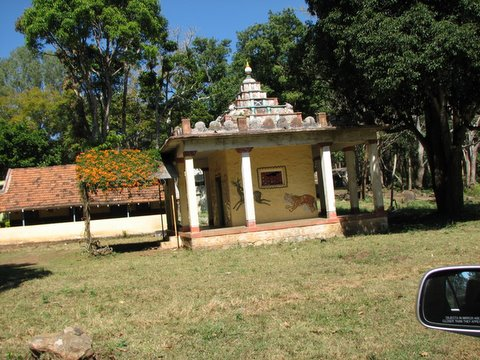 K gudi temple near JLR