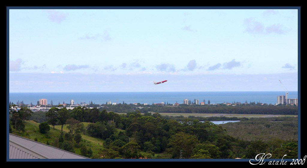 View out to Kirra and Coolangatta