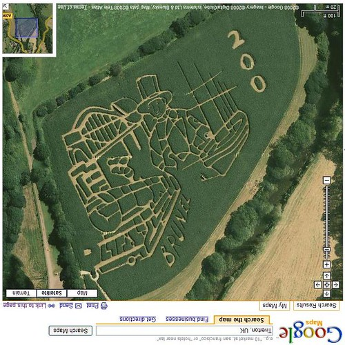 Brunel 200th Birthday Maze