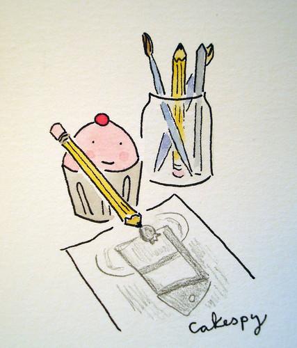 Cupcake artist
