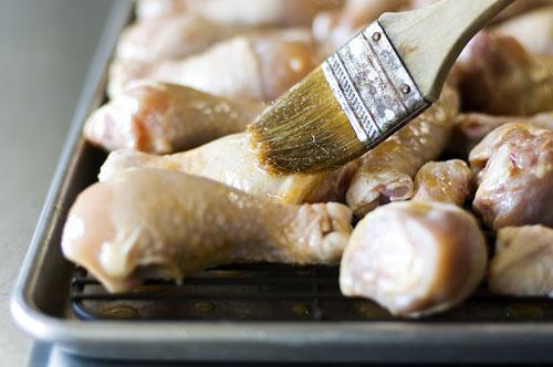 chicken legs thyme bread 036