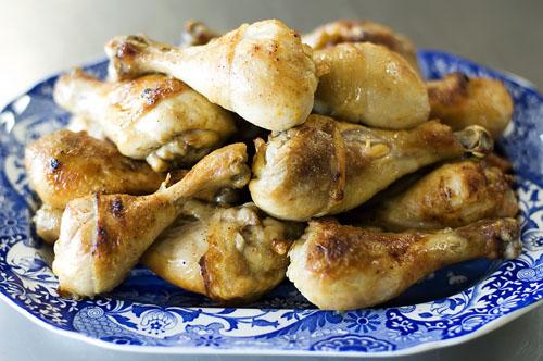 chicken legs thyme bread 056