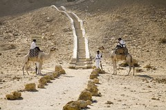 Guards and Their Camels, Red Pyramid (Bill in DC) Tags: egypt pyramids dahshur 2007 nge eos5d redpyramid