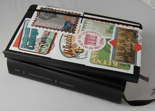 Moleskine with Journaling Bible