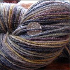 Josie yarn, closeup