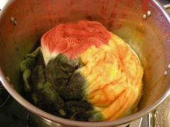 Pot Dyeing!