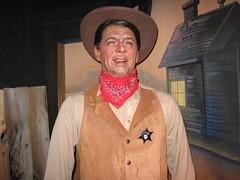Ronald Reagan. (10/30/2005) (jamesandtim) Tags: california park ca museum ronald reagan wax ronaldreagan buenapark buena movielandwaxmuseum movieland