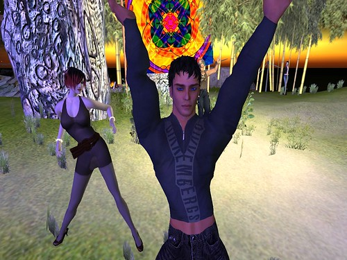 XAVIER, REAL LIFE ARTIST in Second Life
