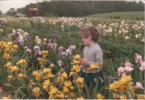 Cabell in the irises