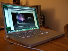 Macbook Pro Early 08 (Alex //Berlin _ Alexander Stbner) Tags: apple silver notebook macintosh early mac keyboard inch laptop version 15 os x safari leopard intel pro 2008 revision aluminium 08 41 illuminate penryn silber mbp macbook
