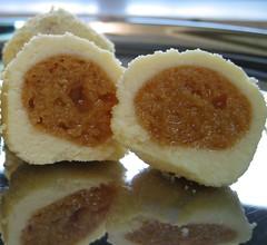 Kheer Kadam (xwelhamite) Tags: food dessert sin bengal decadence bengali bengalisweets mishti mithai sweetbengal kheerkadam