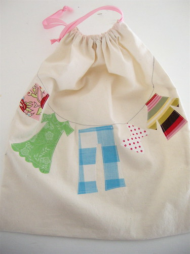doll clothes bag