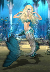 The Charming Mermaid Of Blue Sea! (^blue_angel^) Tags: mermaid sims2 anya