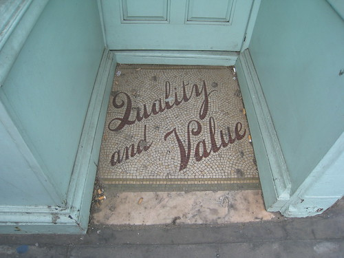 Quality and Value by wetwebwork, on Flickr