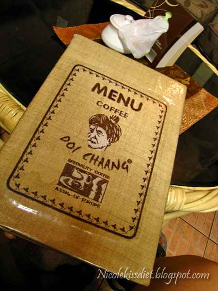 cafe doi chaang menu