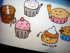 Pie V. Cupcakes