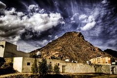 C o l o s s a l (Shabbir Siraj) Tags: street city travel houses mountain clouds landscape nikon day cloudy middleeast kingdom saudi arabia housing medina nikkor 2008 saudiarabia hdr jebel jabal ksa madinah d40 tonemapped jan08