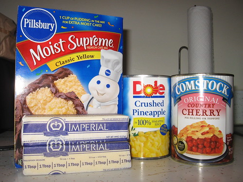 Dump Cake Ingredients