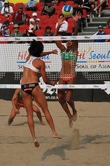 Focus () Tags: women attack womens beachvolleyball seoul donne block mulheres juliana mujeres femmes nationalteam vrouwen frauen   kobiety republicofkorea  fivb eny nationalmannschaft kvinder zhangyi landslaget  naiset   femei reprezentacija  squadranazionale vleyplaya kvinnor  equiponacional  songpagu  ene   echipanationala  swatchfivbworldtour hangangcitizenspark seoulopen bangidong  2008fivb  voleiboldepraia             lquipenationale nrodntm
