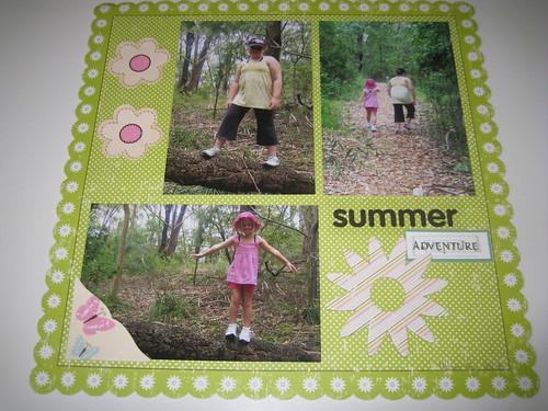 summer adventure layout