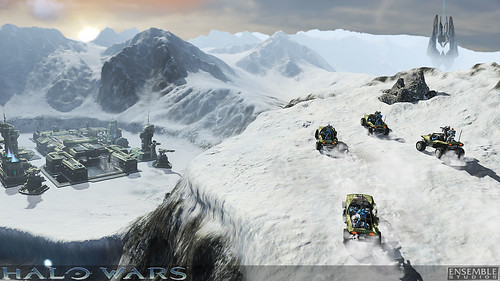 screenshot Halo Wars montaña