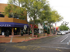 Commercial Area Across Street from University of Arizona