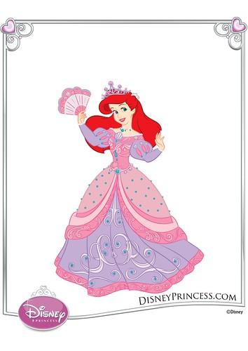 Disney Princess Ariel - Princess - Dress Up Games