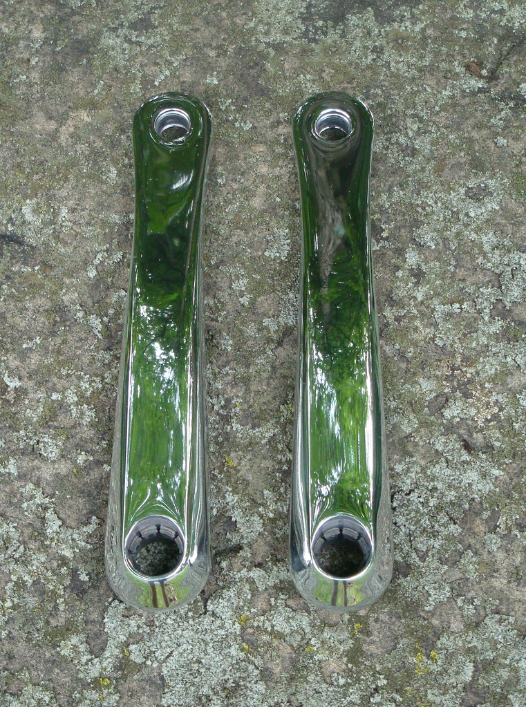 Polished XTR Crank Arm