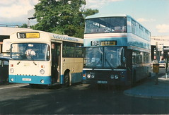 G & G of Leamington YBO 18T, C29 EUH (EwoodEddie1968) Tags: leopard 29 coventry 18 leyland olympian eastlancs rhymneyvalley poolmeadowbusstation c29euh intervalleylink ybo18t ggofleamington