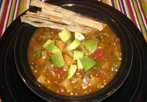 Chile-Lime Tortilla Soup