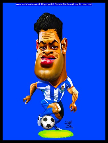 CaricaturaHulkPorto [Copyright Nelson Santos] by caricaturas
