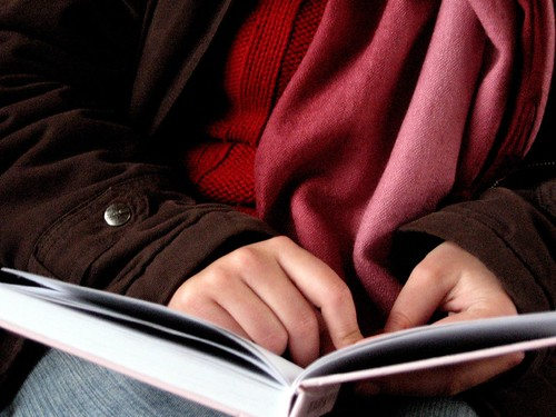 A person reading a book. Those with Asperger's disease are often highly intelligent.