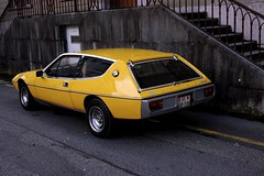 Yellow Elite (Reynoldsorama) Tags: classic car yellow lotus retro elite 70s british s1 wedge 503 504 sportscar excel m50 501 502 lotuselite eclat colinchapman lcar type75 oliverwinterbottom