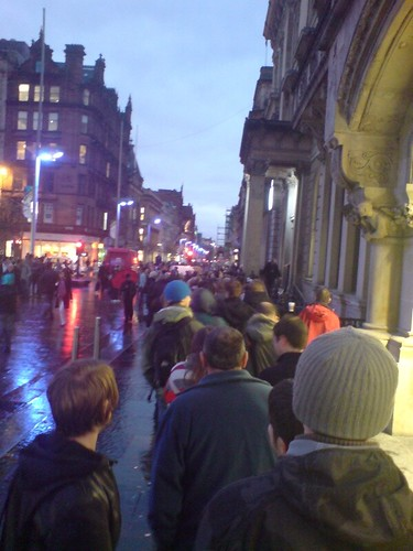 Queuing in Glasgow