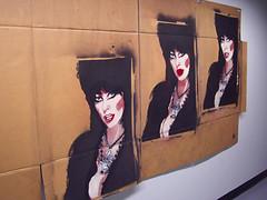 Elvira (Rae Hartsock) Tags: stencil stencilart elvira