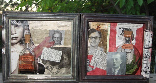A Little Taste of Posion Shadowbox series