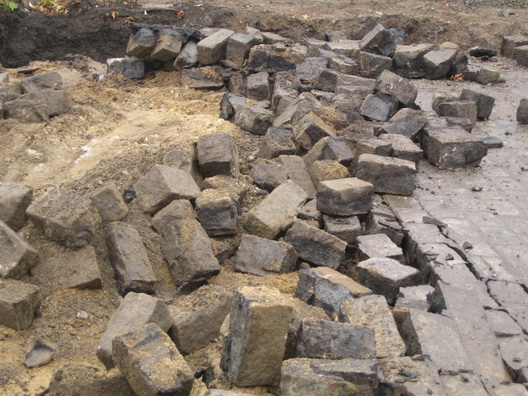 Beard Street Paving Stones