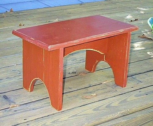 2074403587 4ead3156f5 Shaker Style  bench   barn red