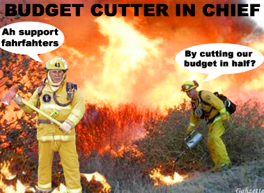 Budget Cutter in Chief