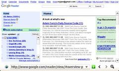 os2008: Google Reader