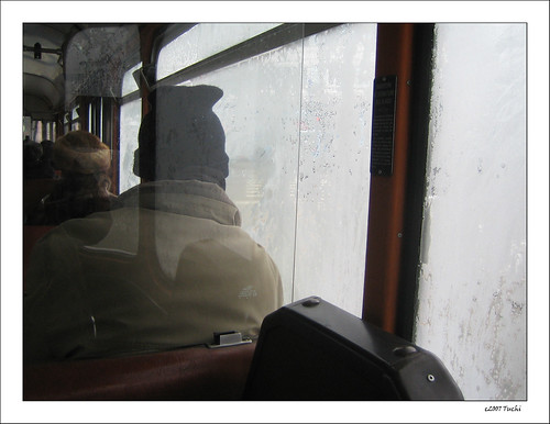 In the bus through the clouds - II