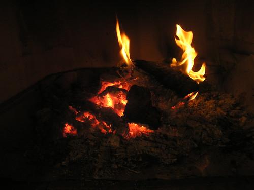 El fuego de la Navidad