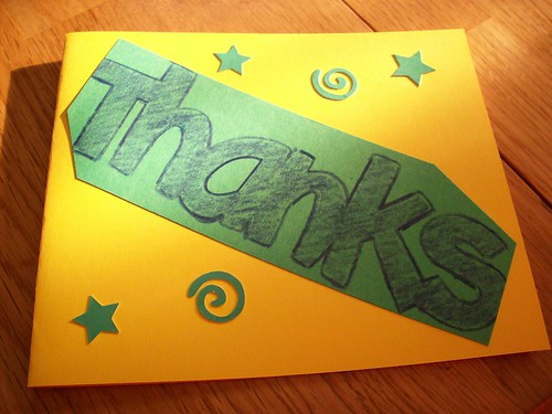 Our Thank You Notes