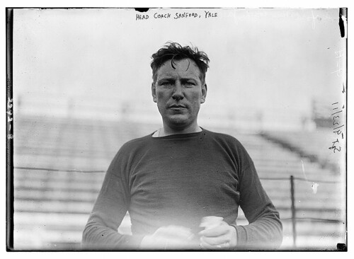 Head Coach Sanford, Yale (LOC)