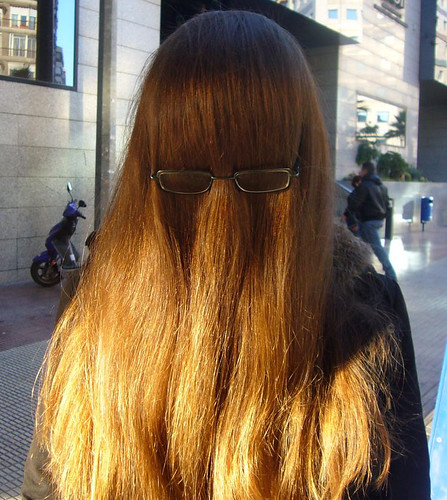 Hombres con cabellos largos