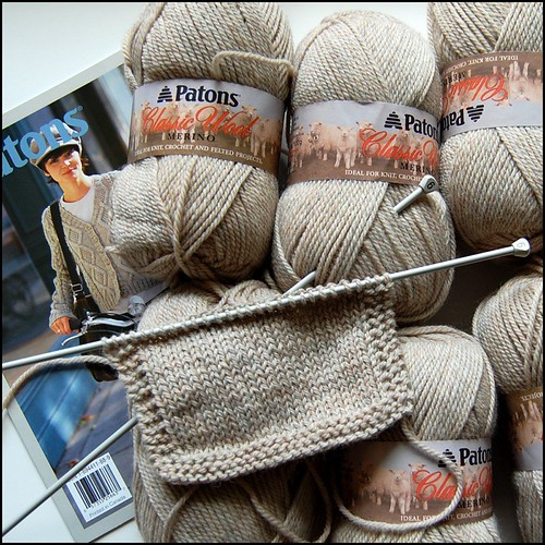 swatch knitting