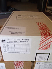 Provisional Ballots for Precinct 225400